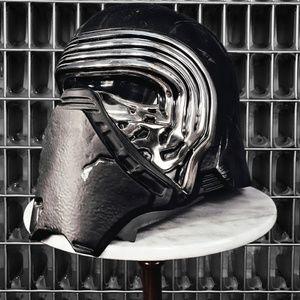 Kylo Ren Star Wars helmet.
